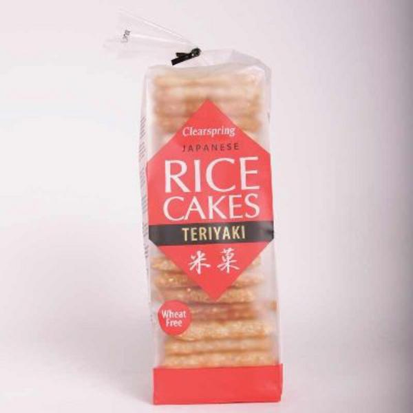 Teriyaki Rice Cakes wheat free image 2