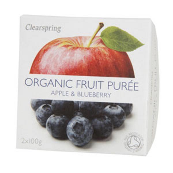 Apple & Blueberry Puree no added sugar, ORGANIC