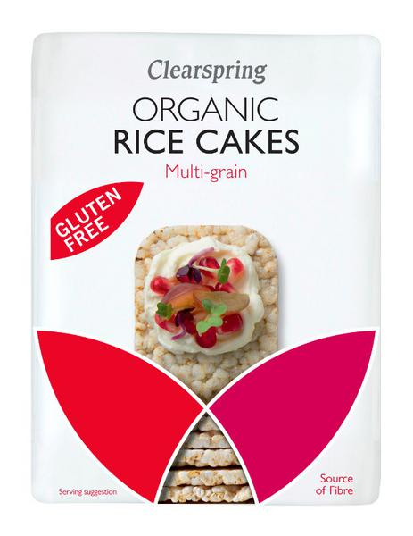 Organic Multi Grain Rice Cakes In 100g From Clearspring
