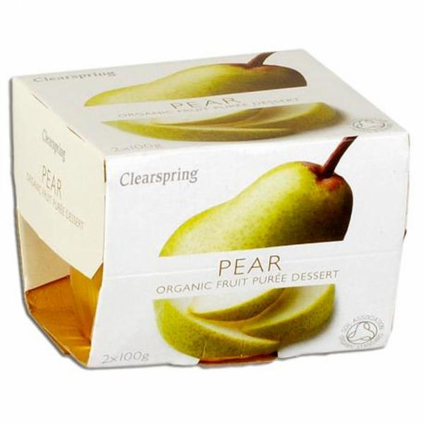 Pear Puree no added sugar, ORGANIC