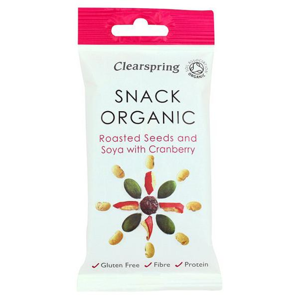 Soya & Cranberry Seed Mix Roasted ORGANIC