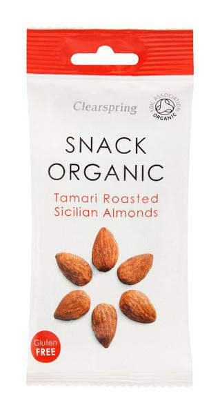Sicilian Roast Almonds ORGANIC