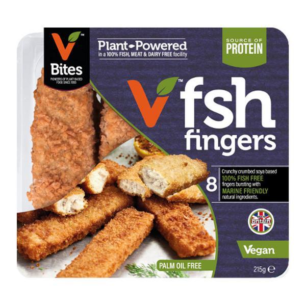 Fish Style Fingers dairy free, Vegan