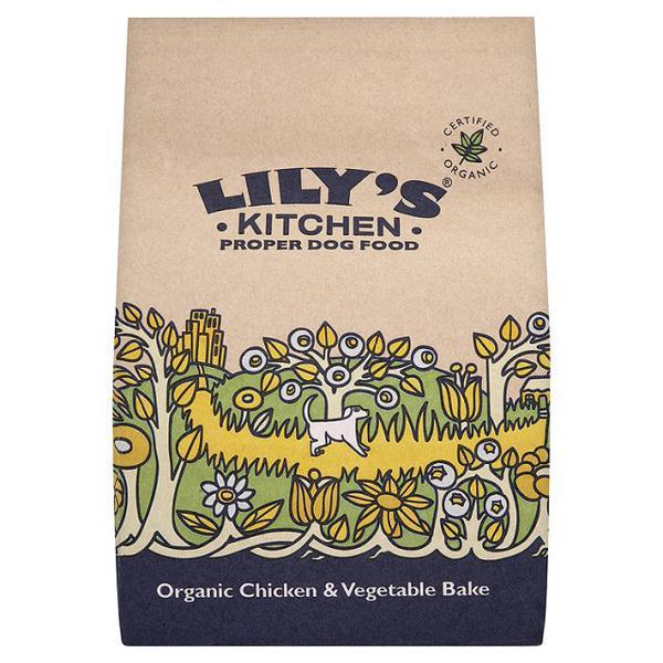 Dog Food Chicken & Vegetable Bake ORGANIC