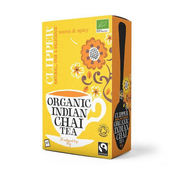 Indian Chai Tea FairTrade, ORGANIC