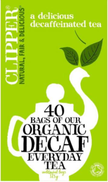 Everyday T-Bags Decaffeinated, ORGANIC