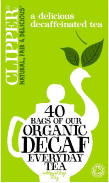 Everyday Tea Decaffeinated, ORGANIC