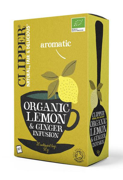 Lemon & Ginger T-Bags ORGANIC