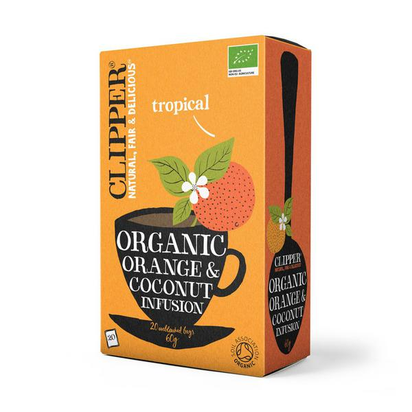 Orange & Coconut Tea ORGANIC