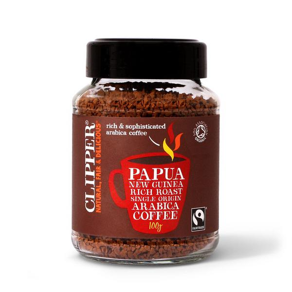 Rich Roast Papua New Guinea Instant Coffee FairTrade, ORGANIC