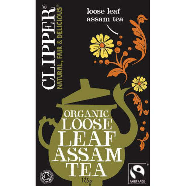 Assam Loose Leaf Tea FairTrade, ORGANIC