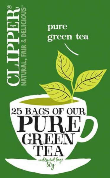 Pure Green Tea FairTrade