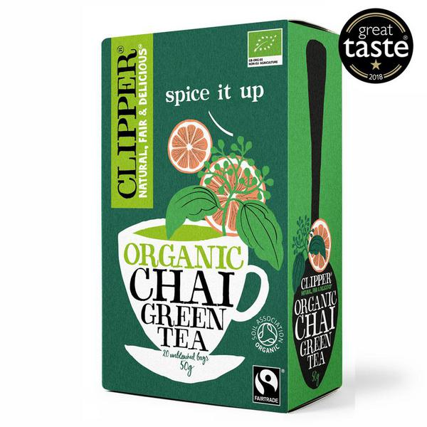 Green Chai T-Bags FairTrade, ORGANIC