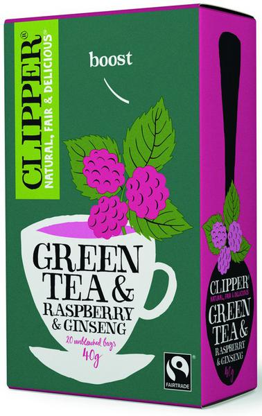 Green Tea & Ginseng T-Bags FairTrade