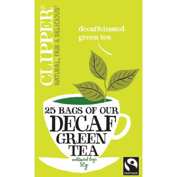 Green T-Bags Decaffeinated, FairTrade