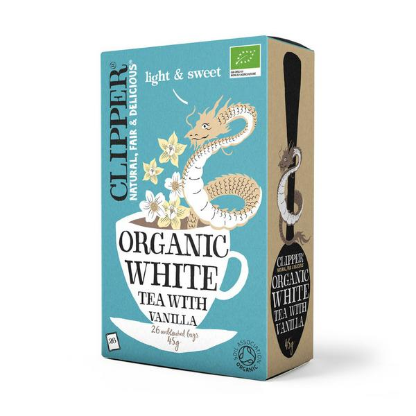 White Tea with Vanilla T-Bags ORGANIC