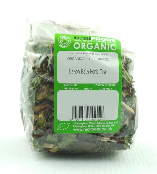 Lemon Balm Herb Tea ORGANIC image 2
