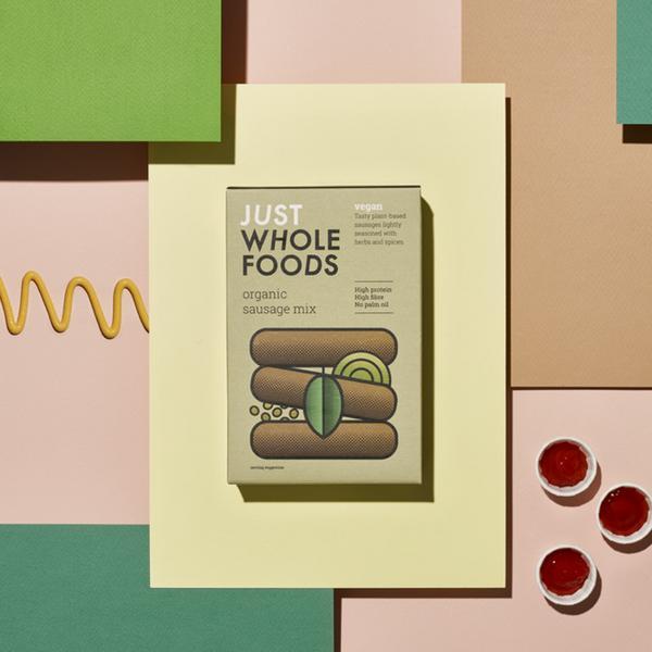 Vegetarian Sausage Mix ORGANIC image 2