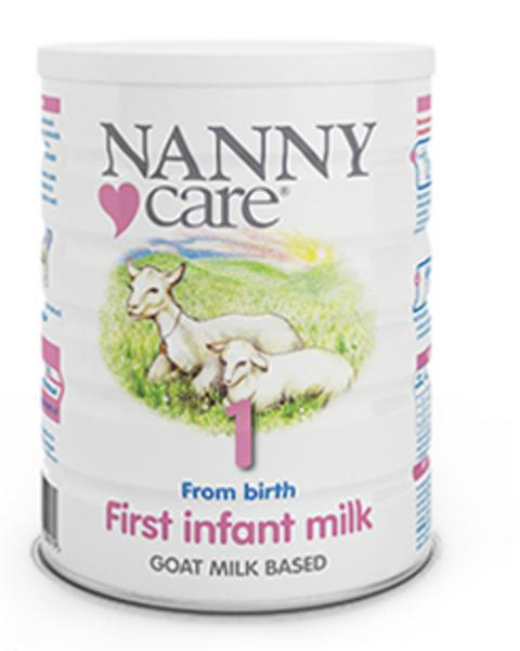 First Infant Goat Milk Powder In 900g From Nanny Care