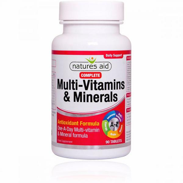 Complete Multi Vitamins and Mineral Vegan