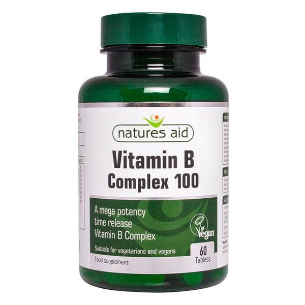 Complex Vitamin B Mega 100mg Vegan