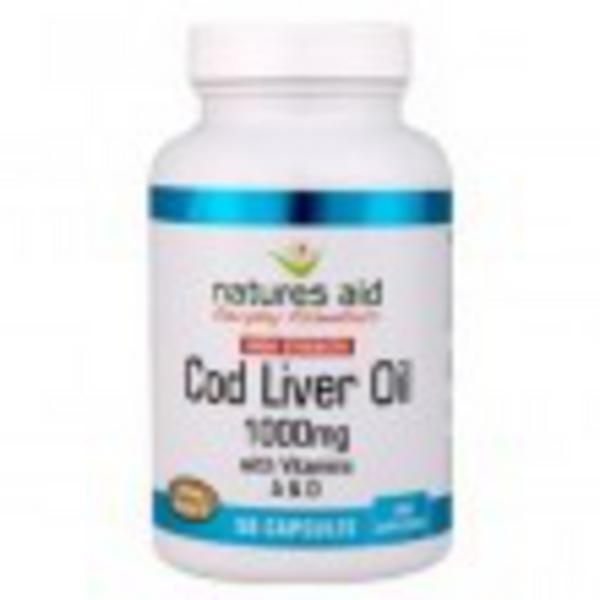 Cod Liver Oil Blend 550mg