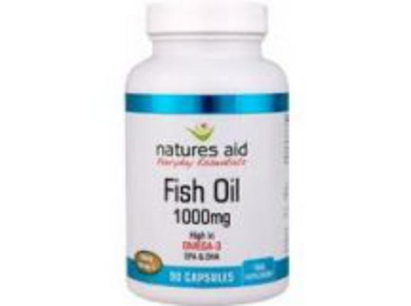 Omega 3 rich fish oil 1000mg in 90sftgel from natures aid for Fish rich in omega 3