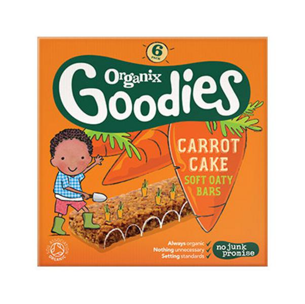Goodies Carrot Cake Cereal Bar ORGANIC