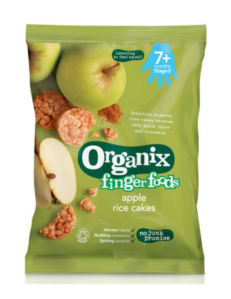 Organix Rice Cakes Ingredients