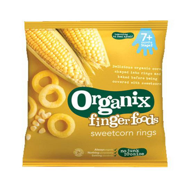 Sweetcorn Rings Baby Food ORGANIC