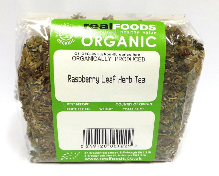 Raspberry Leaf Herb Tea ORGANIC image 2