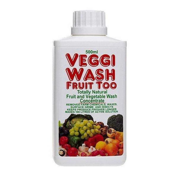 Veggi Fruit & Vegetable Scrub Concentrated Wash