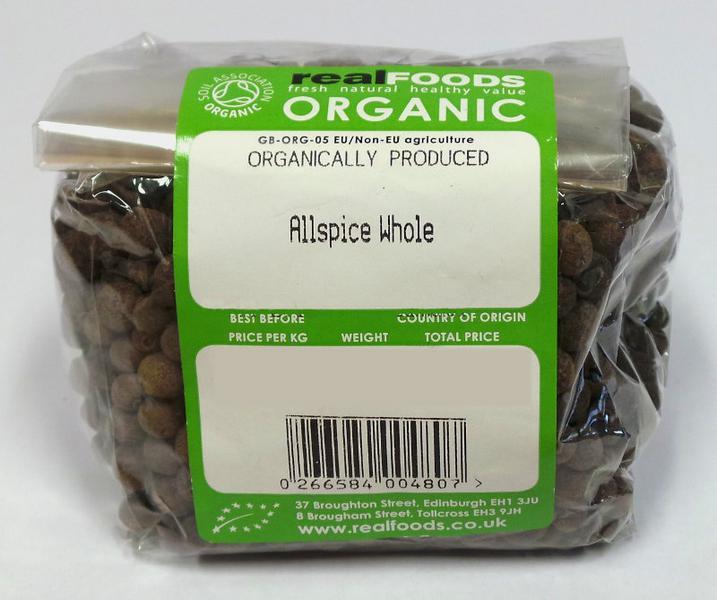 Whole Allspice ORGANIC image 2