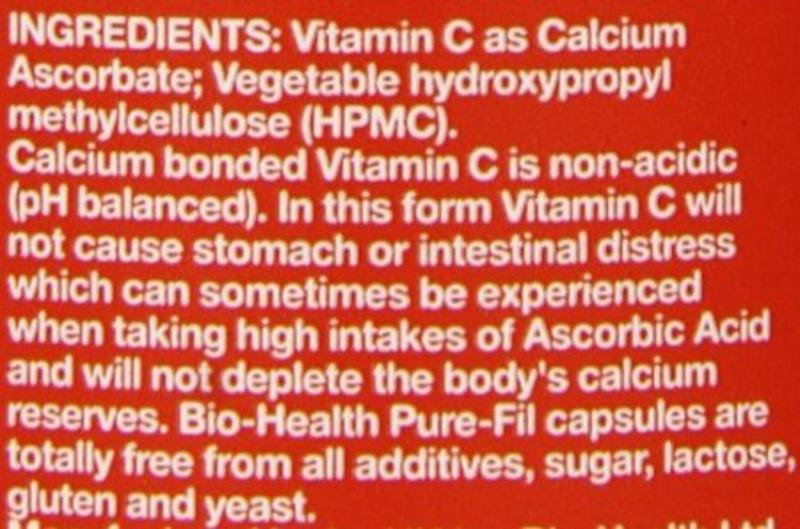 Bio-Health Vitamin C Buffered Vegan image 2