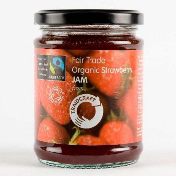 Strawberry Jam FairTrade, ORGANIC