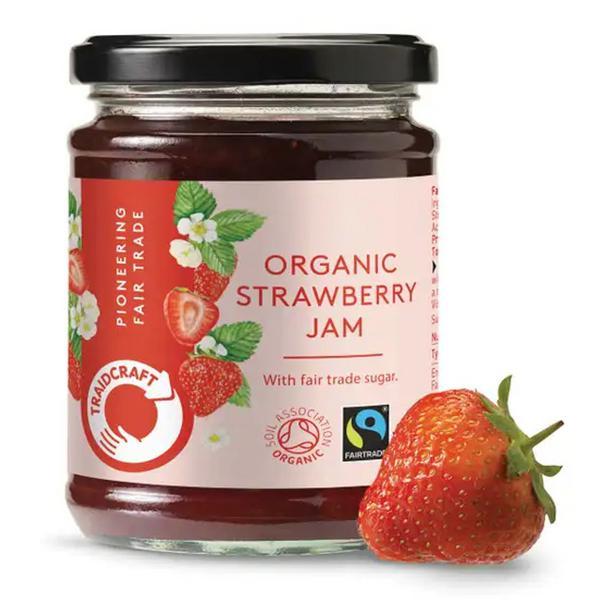 how to make organic strawberry jam