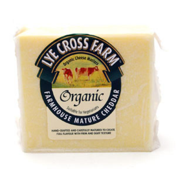 Mature Cheddar Cheese UK ORGANIC