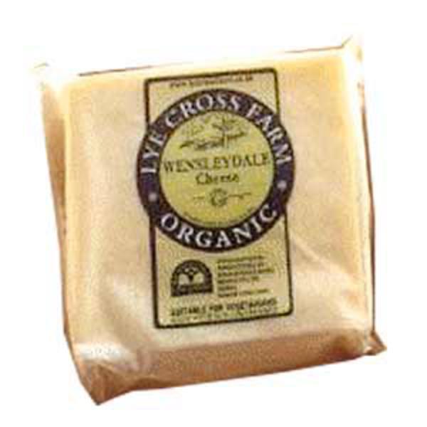 Wenselydale Farmhouse Cheese ORGANIC