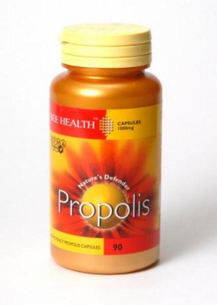 Hi-Potency Propolis 1000mg Supplement no added sugar