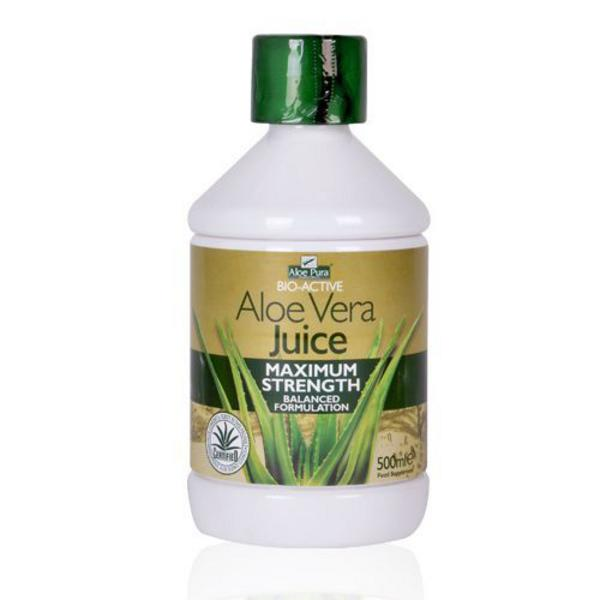 Aloe Vera Maximum Strength Juice Aloe Pura