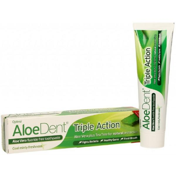 Aloe Vera Fluoride Free Toothpaste Aloe Dent
