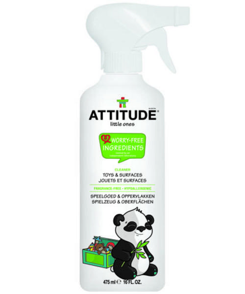 Attitude  Little Ones - Fragrance Free Toy & Surface Cleaner