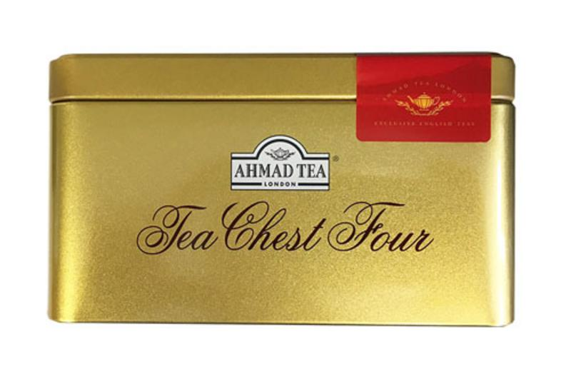 Ahmad  Tea Chest Four Teas Collection - Foiled
