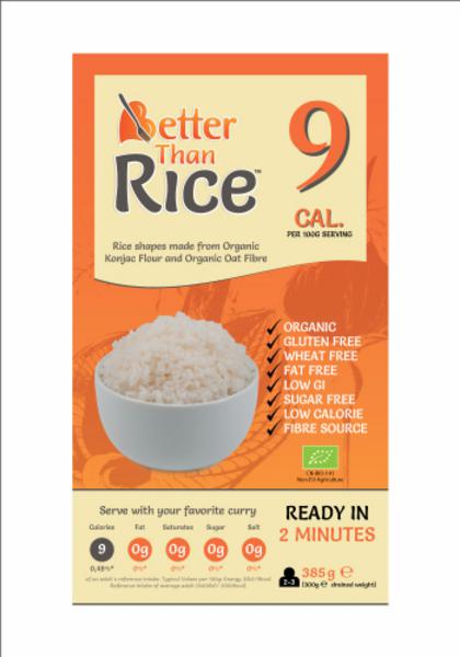Better Than  Organic & Gluten Free Rice Shapes