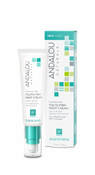 Andalou  Coconut Milk Youth Firm Night Cream
