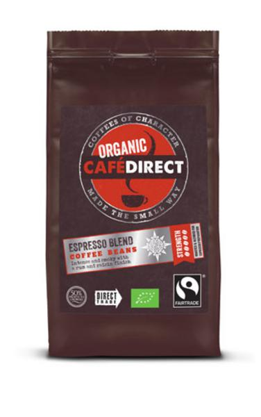 Caf? Direct  Organic Espresso Blend Whole Beans Coffee