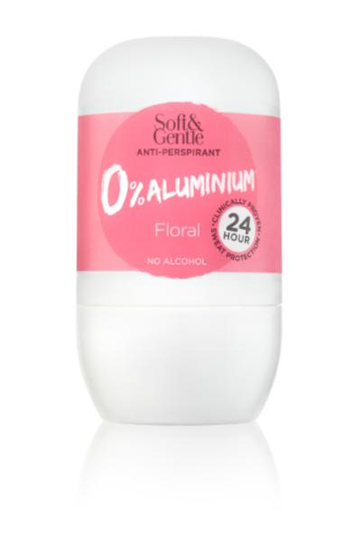 Alu Free Anti-Perspirant Floral Roll On
