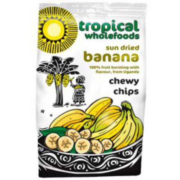 Chewy Banana Chips FairTrade