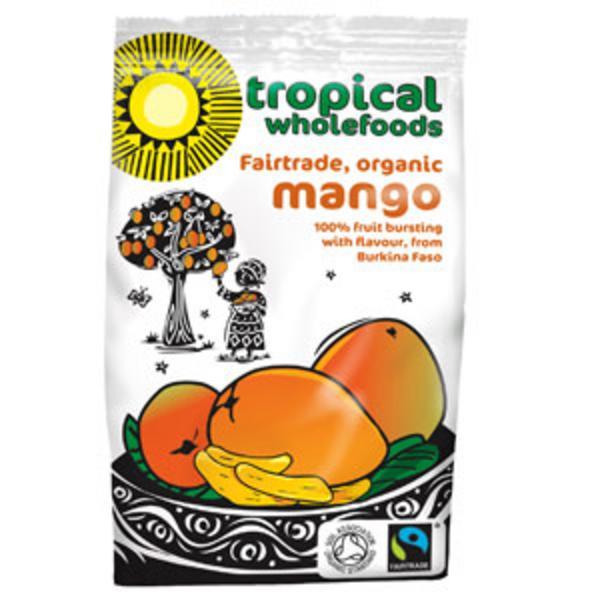 Sun-Dried Mango FairTrade, ORGANIC