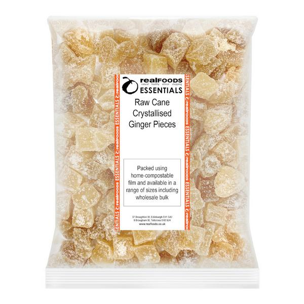 Raw Cane Crystallised Ginger Pieces  image 2